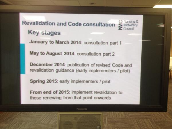 Thumbnail for Revalidation and the Code #nmcsummit- London