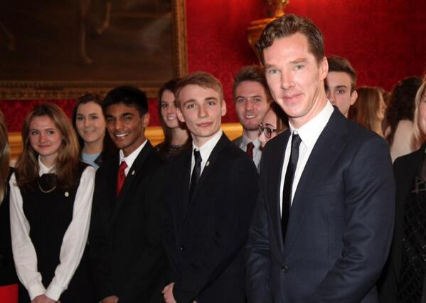 """As an actor I kno how many of the experiences & the skills they've developed matter"" Benedict Cumberbatch #DofE #GAP http://t.co/onaNbn9i9d"