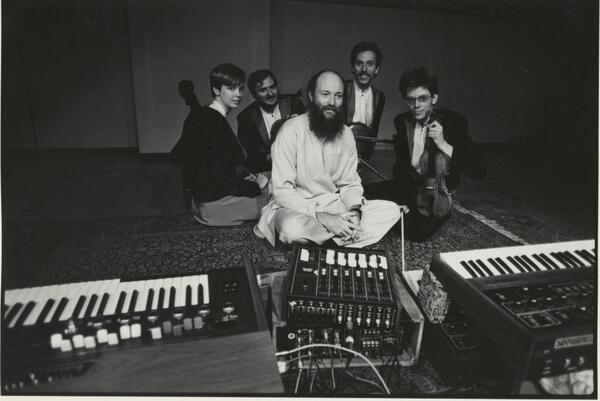 Old school Terry Riley, in honor of the world premiere of his 27th work for us at @carnegiehall on March 28! #tbt http://t.co/EyUrtVhWx6