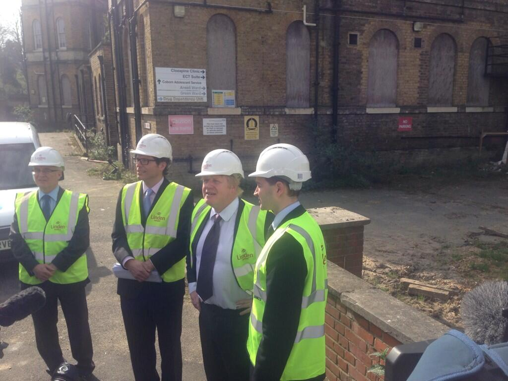 Great to attend ground breaking & meet members of @EastLondonCLT at St Clements, Tower Hamlets this morning. http://t.co/Q8ilDr9BDJ