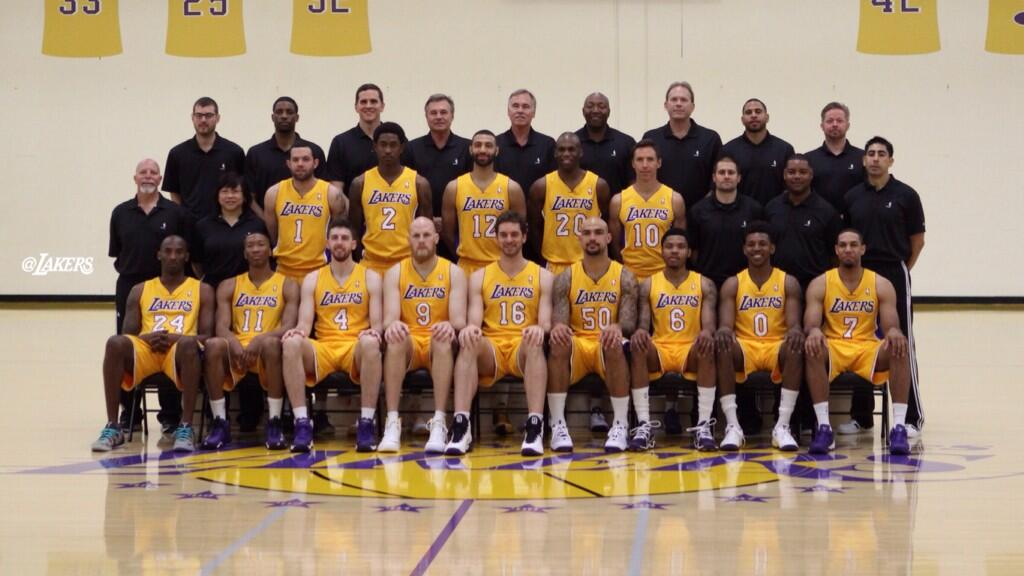 Los Angeles Lakers Roster