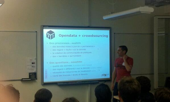 Intéressant: The conclusions and insights of @xmerour regarding opendata and crowdsourcing #cerclevertueux http://t.co/4CgXZ1fF20