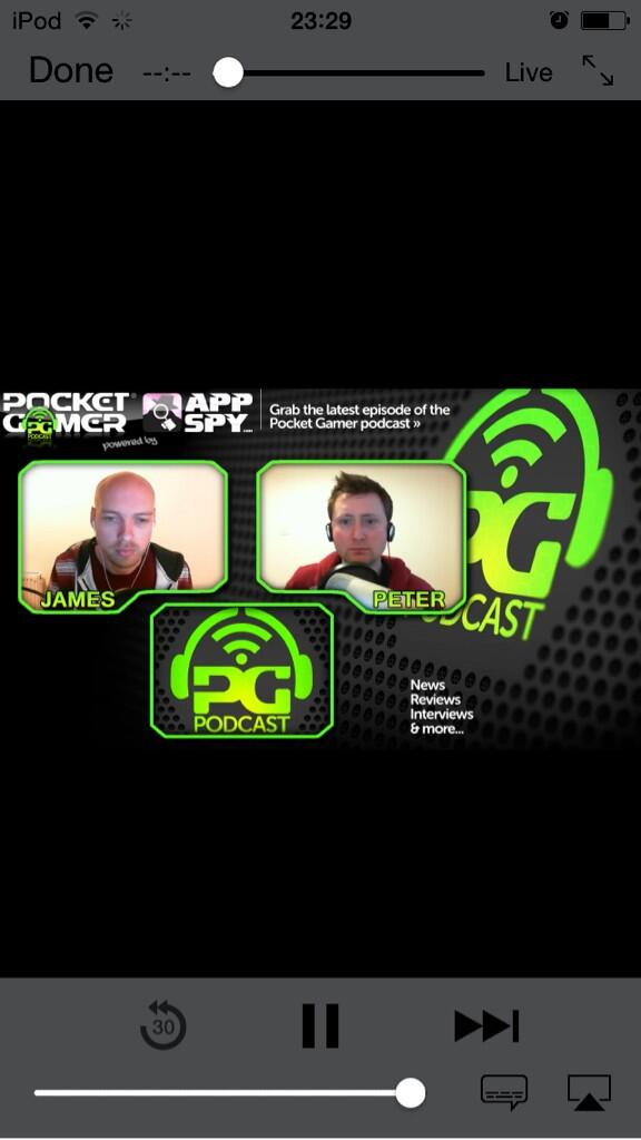 .@PocketGamer's first video podcast is now live on http://t.co/d4u1HTuWnd. http://t.co/37vbCU5MAF