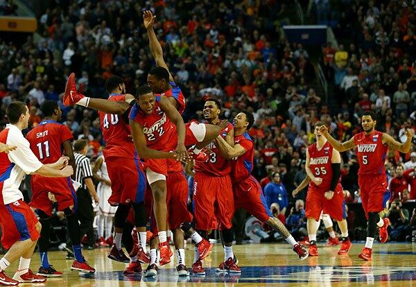 Dayton Flyers upset Ohio State Buckeyes in South region: http://t.co/hdKUA9PJiT http://t.co/MzL5kp9Bed
