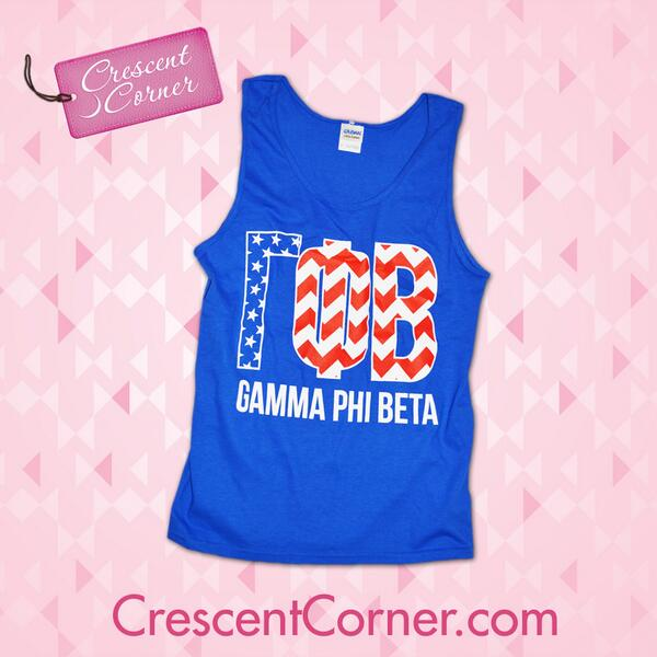 #TrendyThursday! RT to win this Greek letter patriotic tank & all March Crescent Corner items featured in March! http://t.co/2Mm0LHk1XV