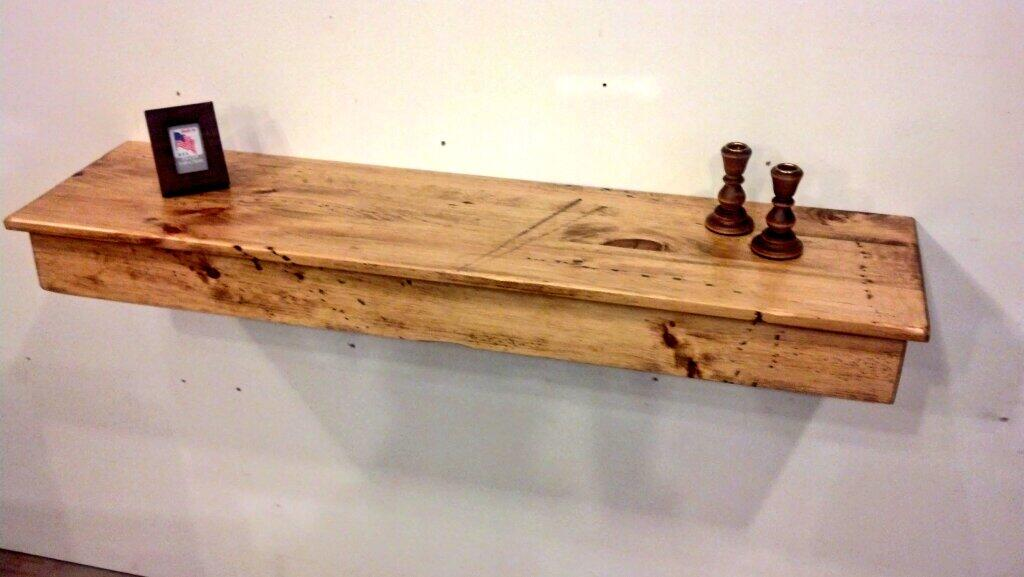 """Dan on Twitter """"new knotty pine rustic wall shelves from"""