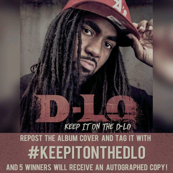 Retweet this with the hashtag #KeepItOnTheDLo and I'll pick 5 winners to send a free autographed copy to!!! http://t.co/Chi4sgdGhj