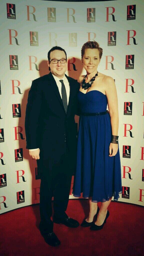#PRWeekAwards Best Dressed Contest...ova! @ShannonEis @zkempner bringing it for big night with @PRWeekUS @MWWGroup http://t.co/twCIoeSFWR