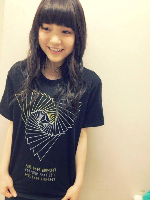 PerfumeFES2014のTシャツ着用★☆気合い十分でござります。 #umika #9nine http://t.co/ab1QmRUpBl