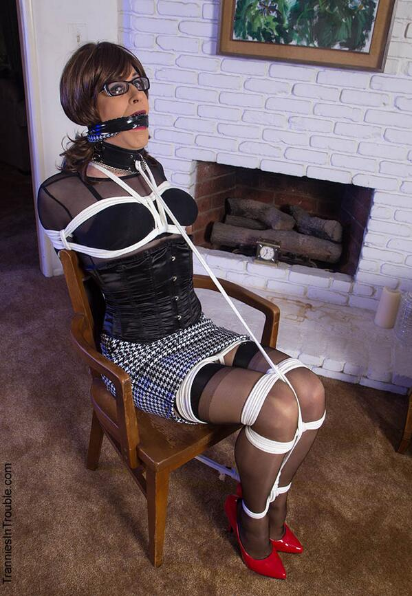 Vivian chen gagged by otto 3