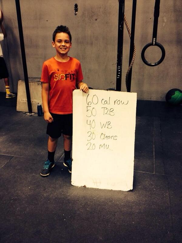 Kaden McLeod (10) @SICFIT kid ambassador 14.4 183 reps 30 calrow 50 t2b 40 wb6# 30 cleans45# 3 MU #LilBeast #FITkid http://t.co/1fdK2FvMGS