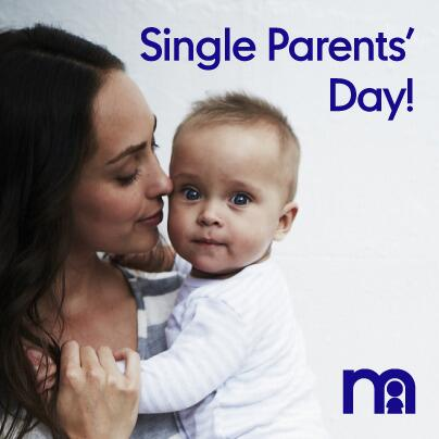 RT @mothercareuk: It's Single Parents' Day today! Tag an amazing single parent you know http://t.co/pC9FVvFjql