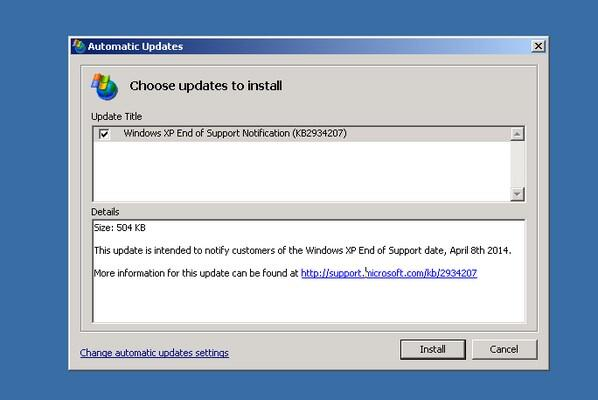 The update to end all updates http://t.co/lDnNhcarFt #microsoft #windowsxp #ripwinxp http://t.co/OVppyvNSPB