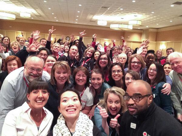 OK folks, the #APAT14 selfie to end all selfies courtesy of @clmidkiff and @DanHalyburton! http://t.co/AZxTGsIktm