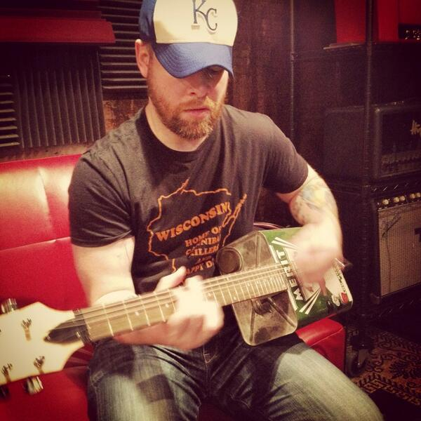 .@thedavidcook's playin the ole Oil Can t'day http://t.co/32IRg4Y0tB