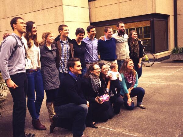 Montana WWAMI class is all smiles! #matchday2014 #iMatched #HuskyMatch http://t.co/PmRG5Xa9w7
