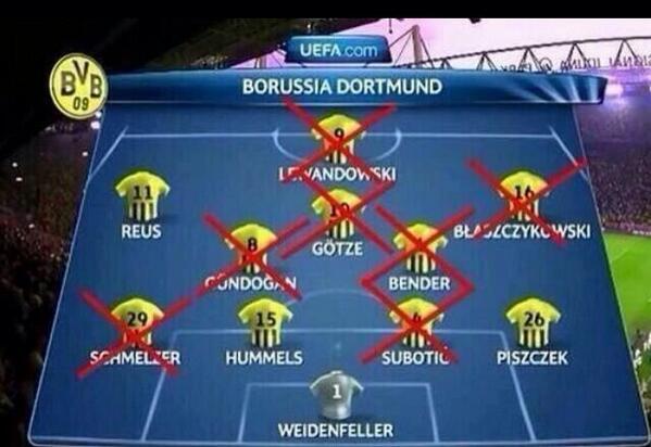 La imagen que comparte @willy_sagnol ilustra bastante bien cómo está hoy en día el BVB: http://t.co/tsV23H4pj4