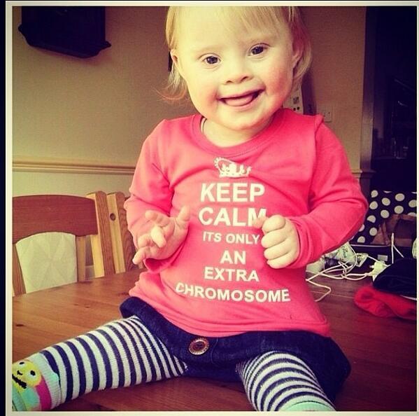 Día mundial del Síndrome de Down. Ojalá me ayudes con un RT, gracias. http://t.co/7a5a4iNZ5r