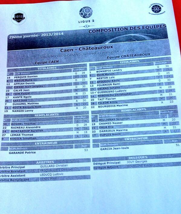 [29e journée de L2] SM Caen 1-1 LB Châteauroux BjRQTziIMAA0SeG