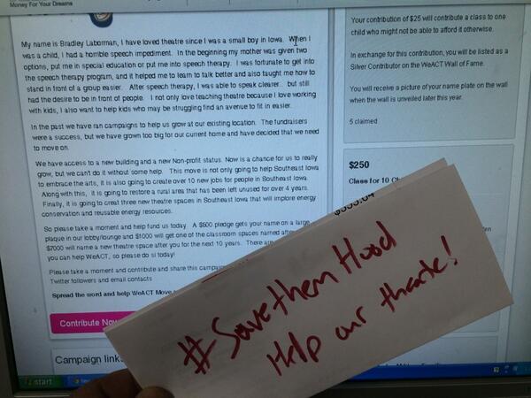 savethemhood hashtag on Twitter
