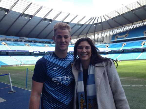 Which one is starting in goal tomorrow for @MCFC ?  #cityvfulham cc: @hopesolo http://t.co/TktgoYrSoq