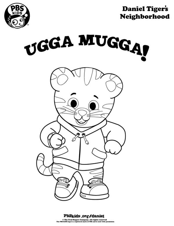graphic regarding Daniel Tiger Printable known as Daniel Tiger upon Twitter: \