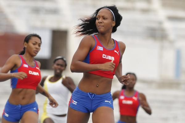 New Sprint Star Gets Headlines In Cuban Athletics Cup