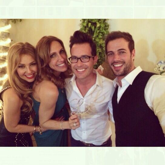 Celebrating @LiliEstefan bday with @willylevy29 And @thalia  :) http://t.co/q2De9mU1kz