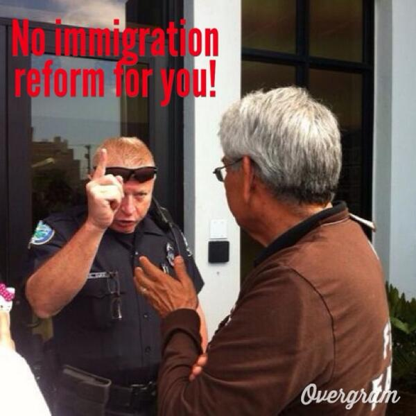 .@SEIU_Eliseo's arrest = unjustified against peaceful call for #CIR. Retweet to show your support! #timeisnow http://t.co/g2fEopMMED