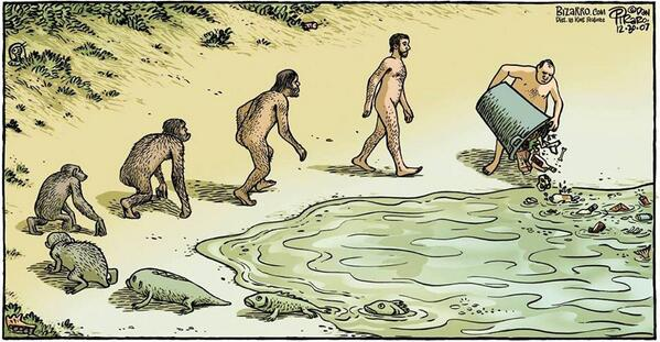 Most depressing cartoon about evolution http://t.co/xxJH8LgV1B via @wganapini