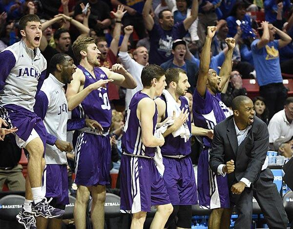WATCH: Four-point play helps Stephen F. Austin upset VCU in NCAA tournament http://t.co/zIXau9O5Yc http://t.co/WdvRitjpwd