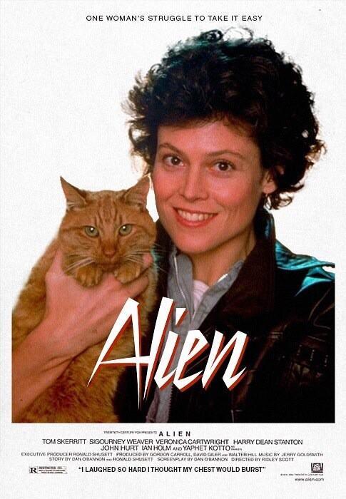 @mechamelissa RT @JurassicaxPark This is probably the best poster for Alien I've ever seen. #Ripley #Alien http://t.co/bd7jbQP7Pd