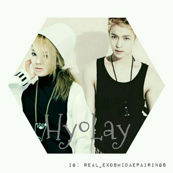 "exoshidae_pairings on Twitter: ""👫HYOLAY👫 Hyoyeon and Lay ..."