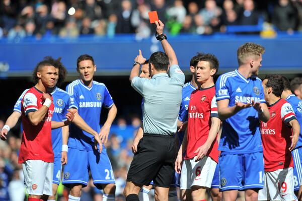 Gibbs or Ox? Arsenal fans set up online game to help referee Andre Marriner!