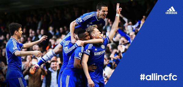 London is Blue. @chelseafc #allinCFC http://t.co/zAstPVUqVw