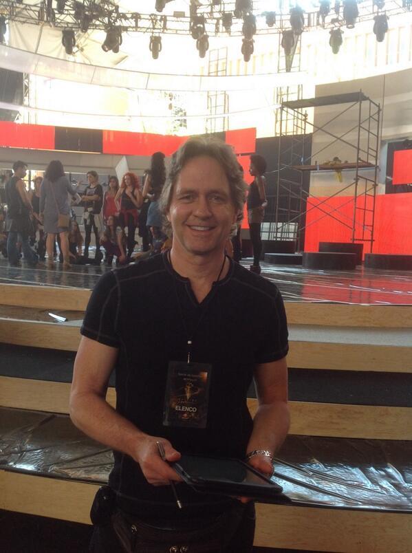 Preparando para Los premios TVyNovelas http://t.co/iscdt60wMm