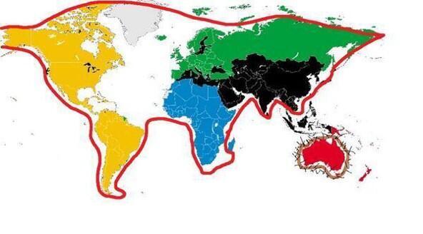 Worksheet. Luchifreetown  on Twitter El mapa del mundo oculta en realidad