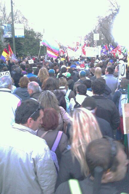 El presenta y el futuro ya son nuestros. #MarchasDignidad22M #22M http://t.co/8eK4sdsaoX