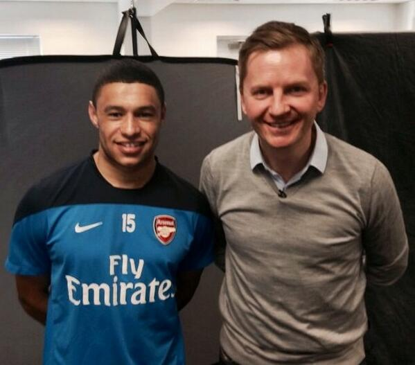 Anyway, on a more light hearted note, here's a picture of me and Kieron Gibbs... http://t.co/gAJBxPjMFx