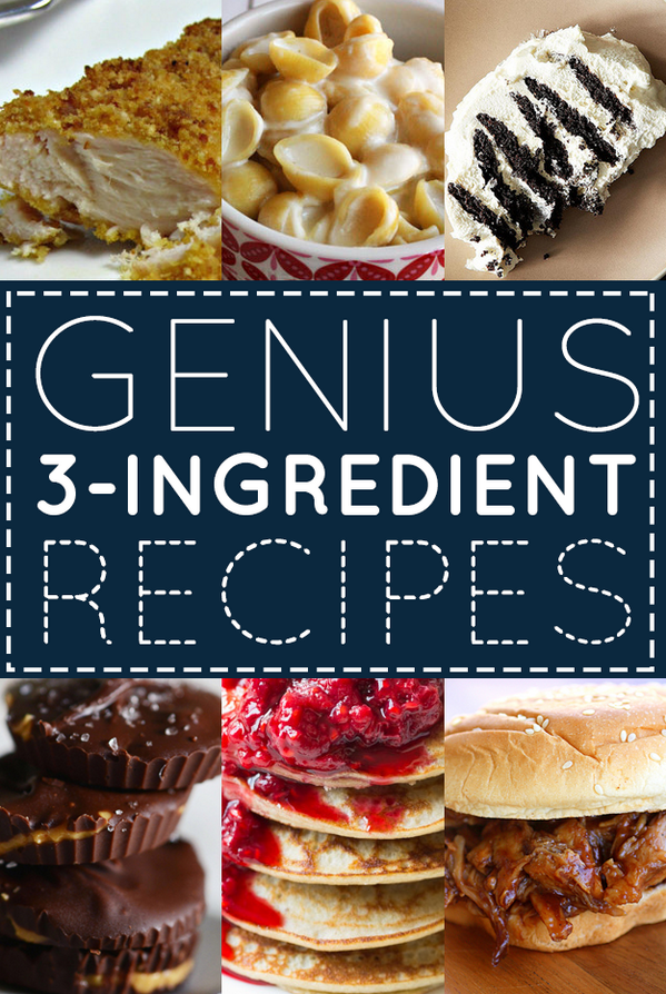 Buzzfeed food on twitter 33 genius three ingredient recipes http buzzfeedfood 33 genius three ingredient recipes httpbuzzfeed rachelysandersgenius three ingredient recipes picitteradbxgpsotm forumfinder Images