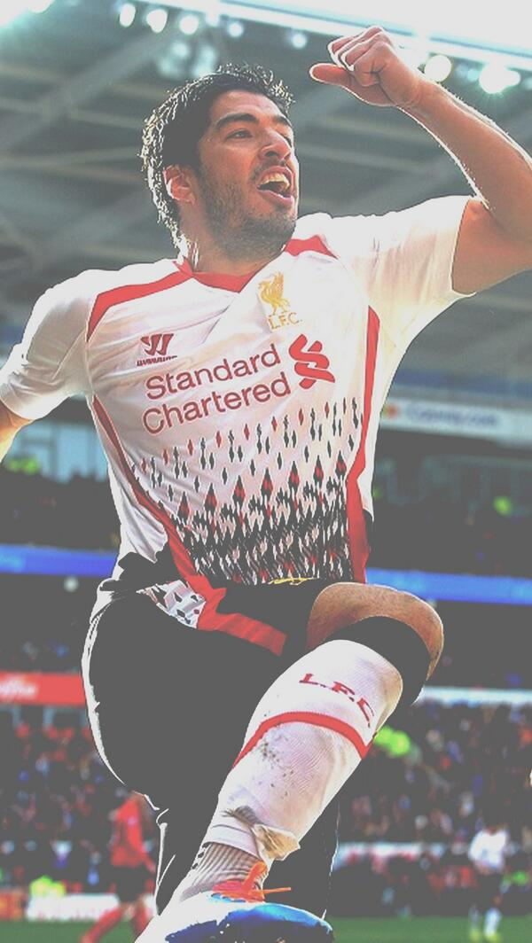 On twitter suarez iphone 5 wallpaper - Suarez liverpool wallpaper ...