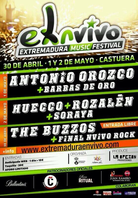 Preparad@s?   Gira #OzeansClub  @antoniorozco   Castuera (Badajoz) 1 de Mayo  Info: @ExNVivo  http://t.co/vJTNnChmnA http://t.co/ZHHlMcaSEL