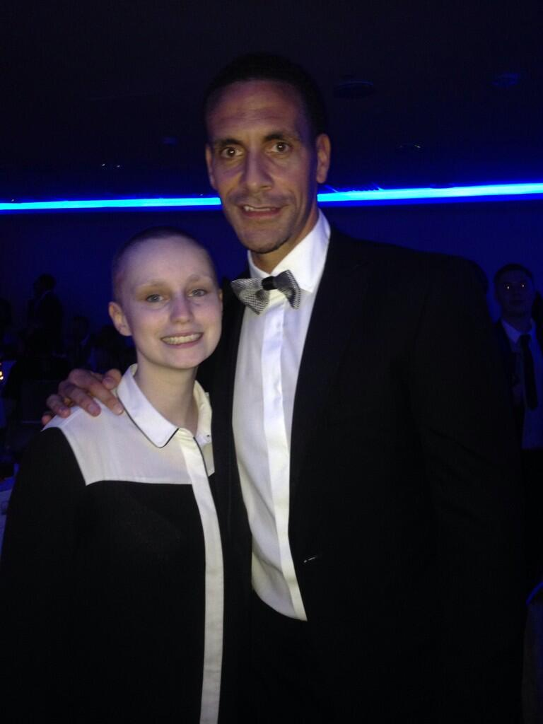 """@shelbeeclarke: Met the legend @rioferdy5 thank you for having me!! http://t.co/byrmwJXhLA"" > what a girl, moving speech too! Take care"