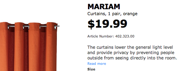 "See, what you've done here, IKEA, is less describe *these* curtains and more describe the concept of ""Curtains"": http://t.co/cmoiioMX5O"