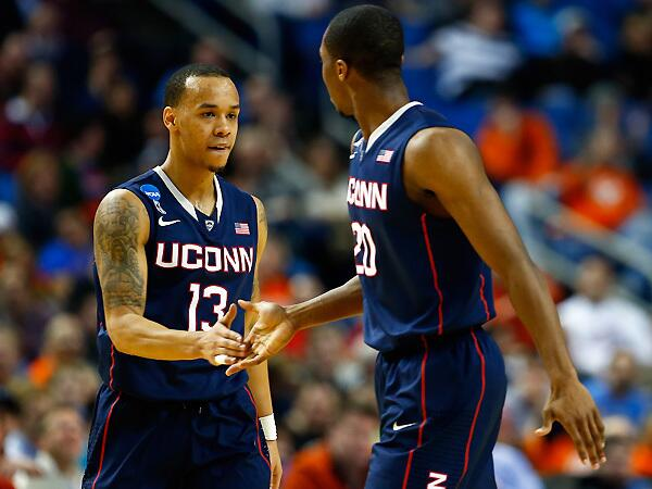 Behind 'Bazz, UConn is headed to NYC for the Sweet 16, by @martinrickman  http://t.co/ZaPjCffc8x http://t.co/l0YJoa0EEk