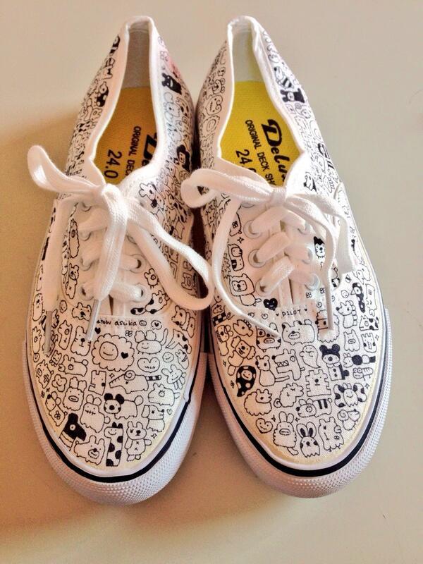 【簡単プチプラ靴リメイク】オンリーワンの靴で街を歩こう♡【GU,無印,しまむら】