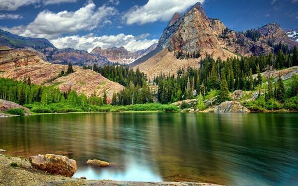 картинки пейзажи природа нарисовать