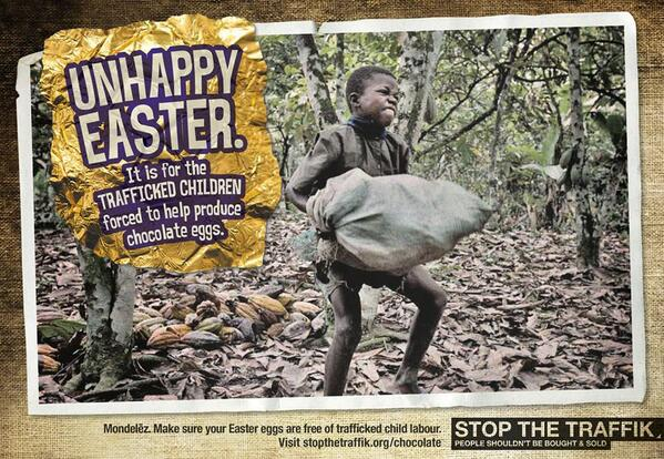This #Lent, share this image & help us to raise awareness of the #ChildTrafficking that might make your #Easter egg! http://t.co/98t6trboXn