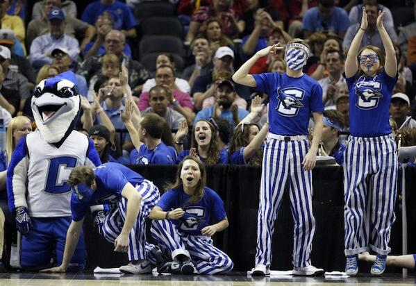 The Creighton band, because why the hell not. (USATSI) http://t.co/kB5mS9uYhM