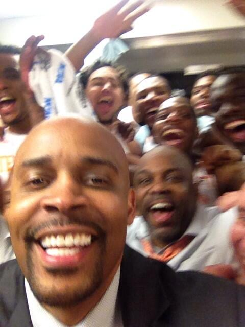 It's GREAT to be a Tennessee Vol!!! Next stop, Indy! #Sweet16Selfie http://t.co/g7KCyptZJb
